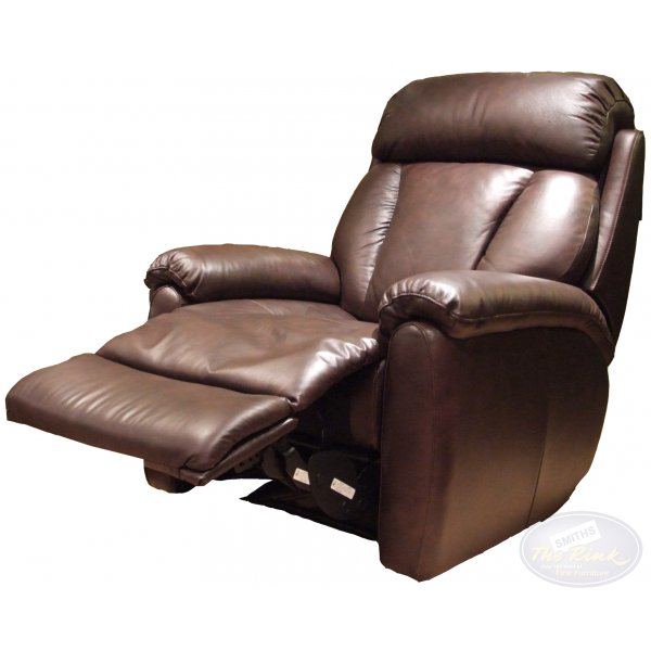 Lazboy Georgia Electric Leather Recliner At The Best Prices