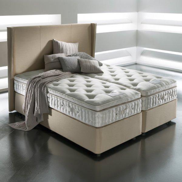 Somnus berkeley 7000 double luxury divan bed for Double divan set