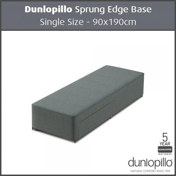 Dunlopillo single sprung edge divan base 90x190cm for 90 x 200 divan base