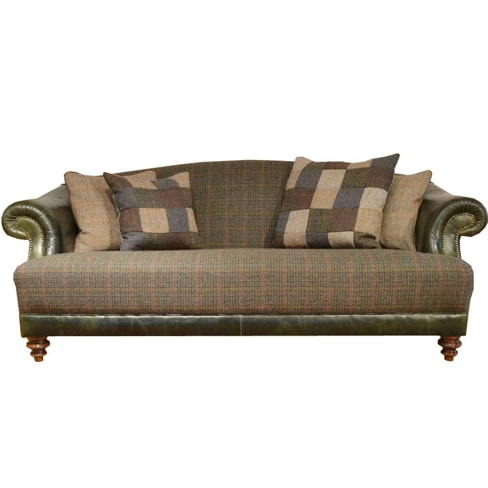 Tetrad Taransay Midi Harris Tweed Sofa At Smiths The Rink
