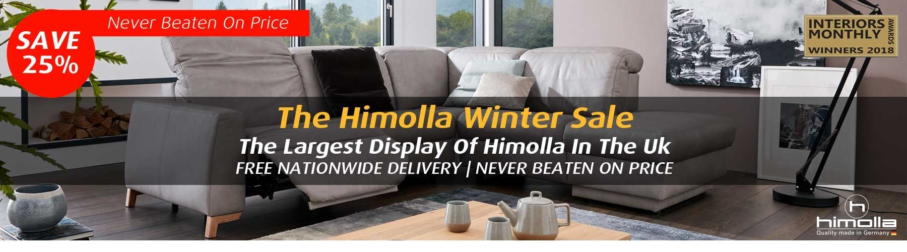 Himolla Sofas Recliners The Largest Himolla Display In The Uk