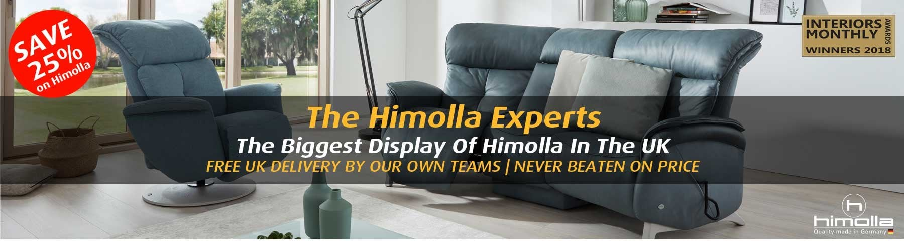 ebbf458050a6 Himolla Sofas & Recliners - The Largest Display Of Himolla In The UK