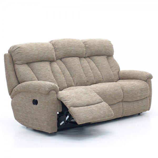 Georgia 3 Seater Power Reclining Sofa In Fabric