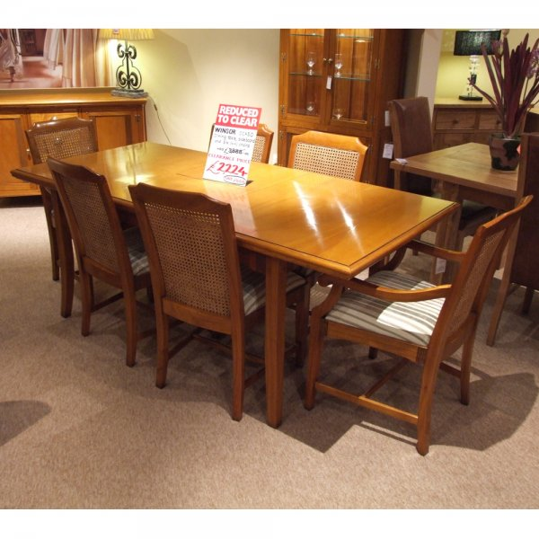 Dining Tables Clearance: Winsor Ocaso Dining Clearance At Smiths The Rink Harrogate