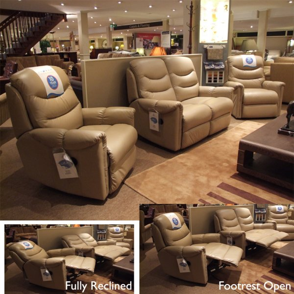 Admirable Lazboy Boston 2 Seater Recliner Sofa Recliner And Fixed Chair In Leather Clearance Gmtry Best Dining Table And Chair Ideas Images Gmtryco