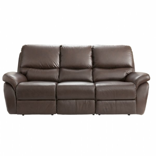 Lazboy California 3 Seater Leather Power Recliner Sofa At