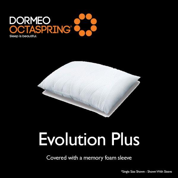 dormeo octaspring evolution plus pillow at smiths the rink. Black Bedroom Furniture Sets. Home Design Ideas
