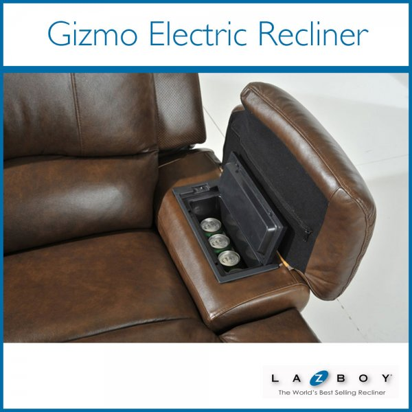 Gizmo Recliner Chair With Heat, Massage, Audio, Built In Fridge U0026amp;  Bluetooth