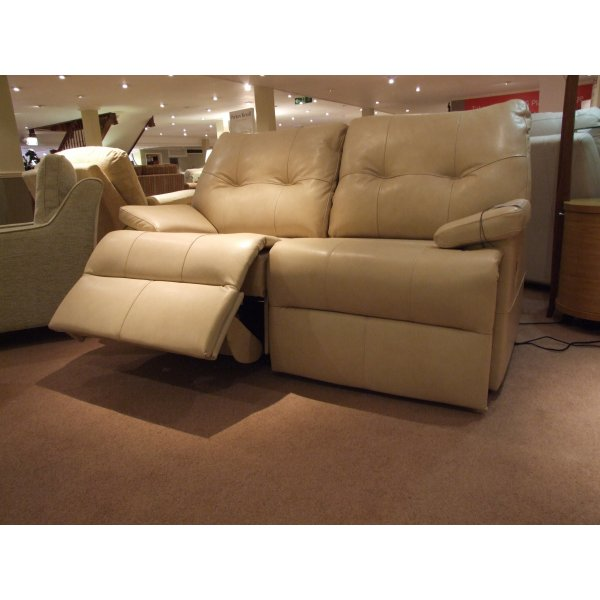 White Leather Sofas Montreal: G Plan Montreal 2 Seater Electric Recliner Sofa