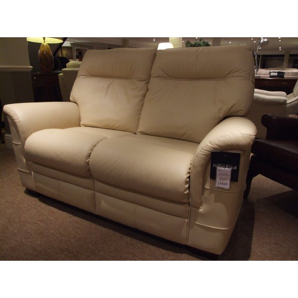Parker Knoll Hudson 2 Seater Leather Sofa