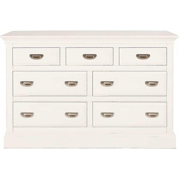 Willis Gambier Dorset Bedroom Furniture: Minerva Dorset 7 Drawer Chest