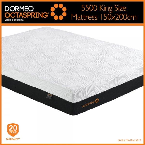Dormeo Octaspring 5500 King Size Mattress Free Uk
