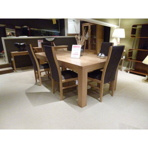 Dining Chairs Clearance: Royal Oak Linton Dining Table And 6 Chairs