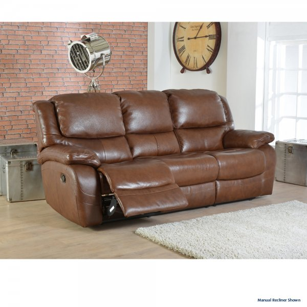 Superieur Ava 2 Seater Electric Recliner Sofa In Leather