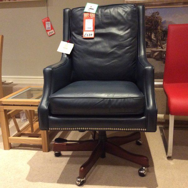 Tauton Leather Executive Office Chair Clearance