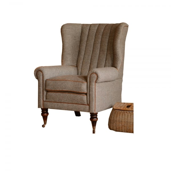 Tetrad Dunmore Harris Tweed Armchair At Smiths The Rink