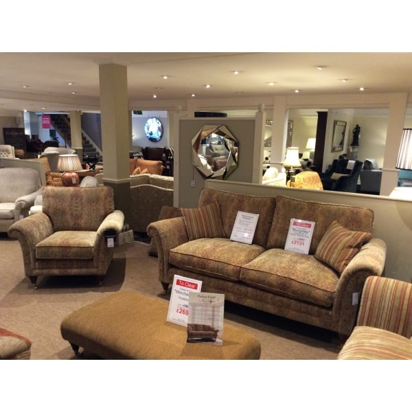 Sofa Free Delivery: Parker Knoll Burghley Clearance