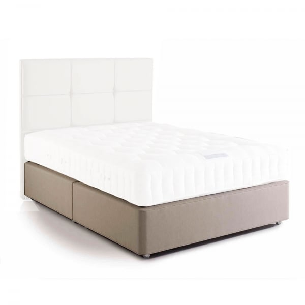 Hypnos deep sprung edge open coil divan base smiths the rink harrogate Divan bed bases
