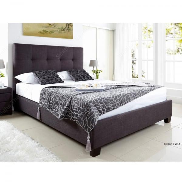 Ottomans Sherborne Ottoman Large: Kaydian Walkworth Ottoman Bed In Pendle Slate