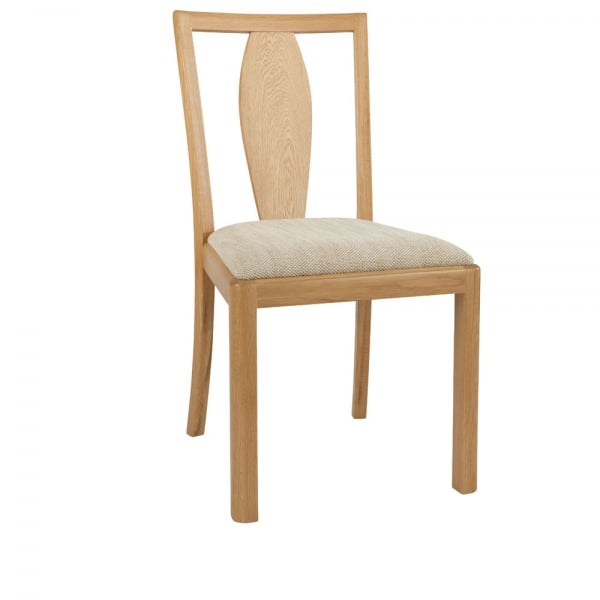 Winsor Stockholm Wooden Back Fabric Dining Chair