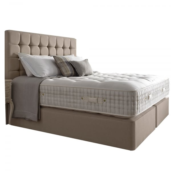 Harrison princess 19800 super king size divan bed at for King size divan bed