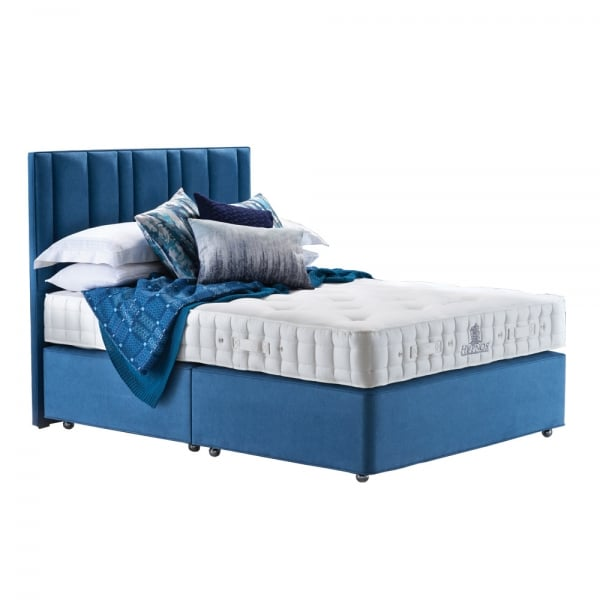 Hypnos luxury no turn deluxe divan bed at smiths the rink for Firm divan beds