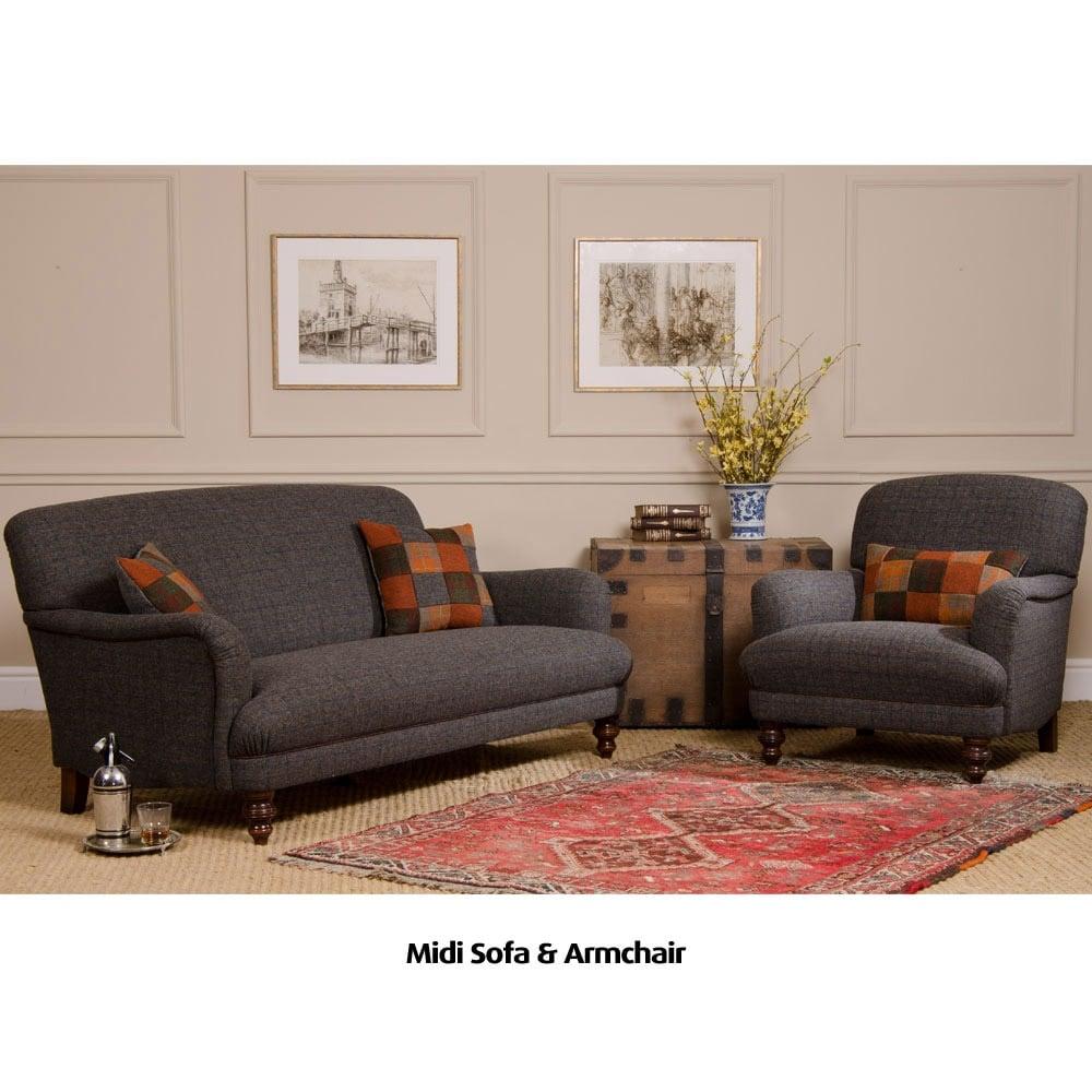 Braemar Petit Harris Tweed Sofa