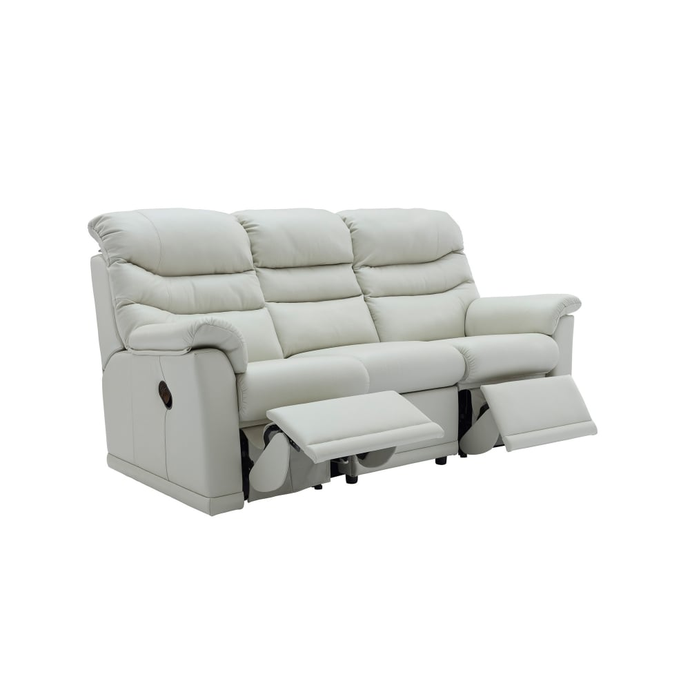 Leather Electric Recliner Sofa Uk: G Plan Malvern 3 Seater Leather Electric Recliner