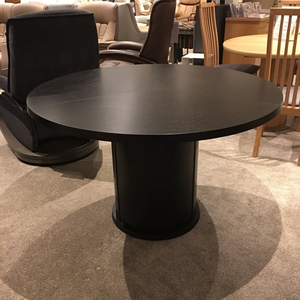 SM32 Black Wenge Dining Table Clearance   Local Delivery Only
