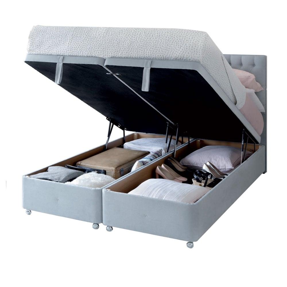 Ottomans Sherborne Ottoman: Hypnos Super Storage Ottoman Bed At Smiths The Rink Harrogate