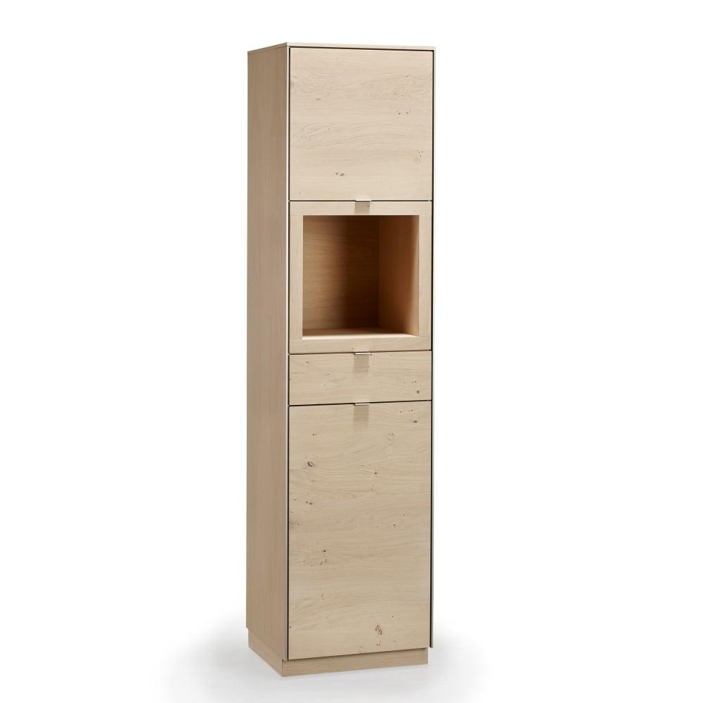 Skovby Sm914 Storage Display Cabinet With Led Lighting