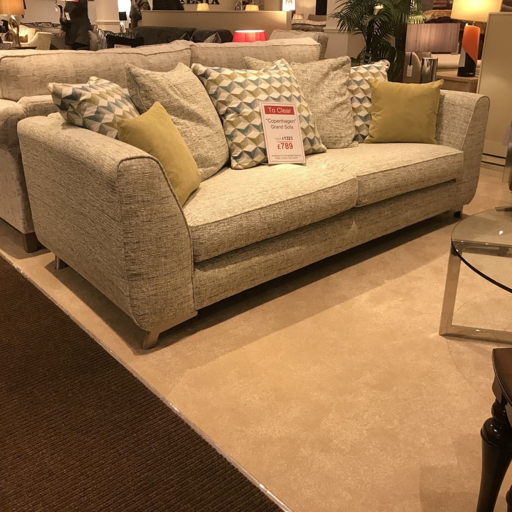 Copenhagen Grand Sofa Clearance   Local Delivery Only