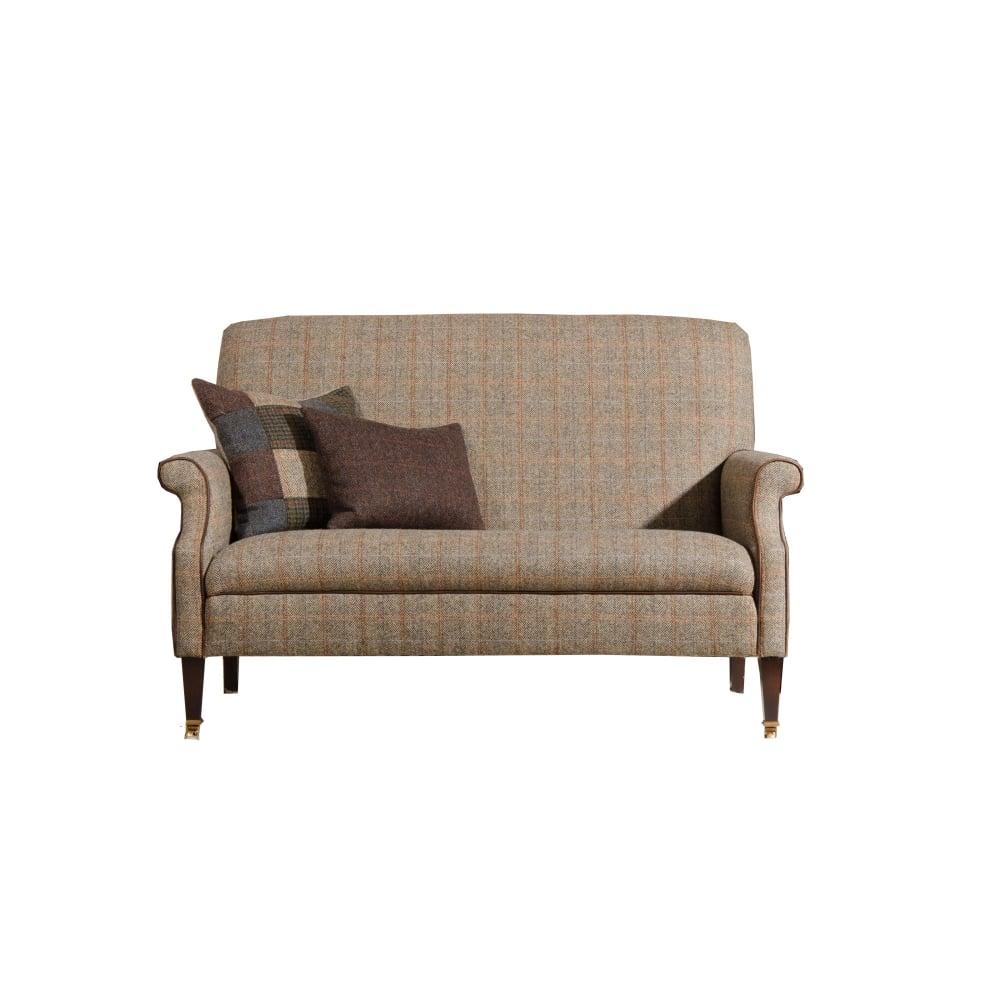 tetrad bowmore harris tweed compact 2 seater sofa at. Black Bedroom Furniture Sets. Home Design Ideas