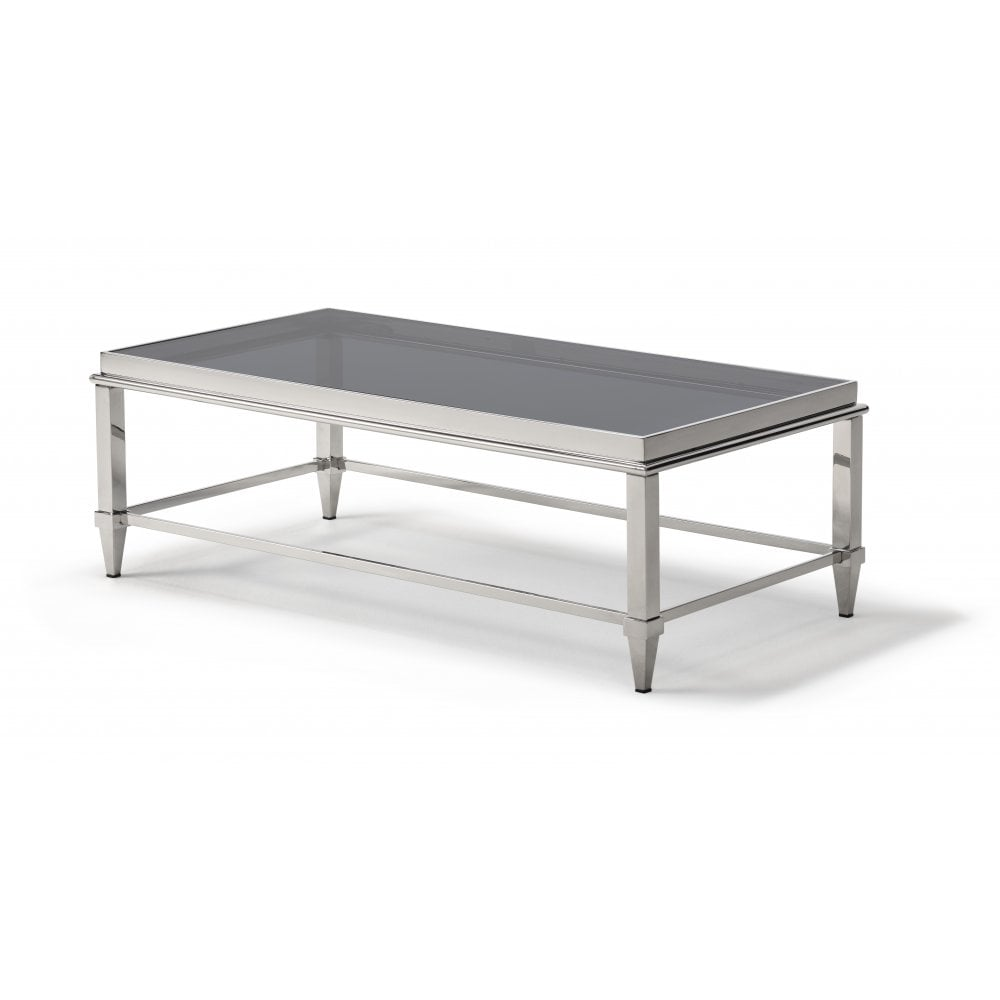 Glass Coffee Tables Furniture Village: Kesterport Janis Glass Coffee Table