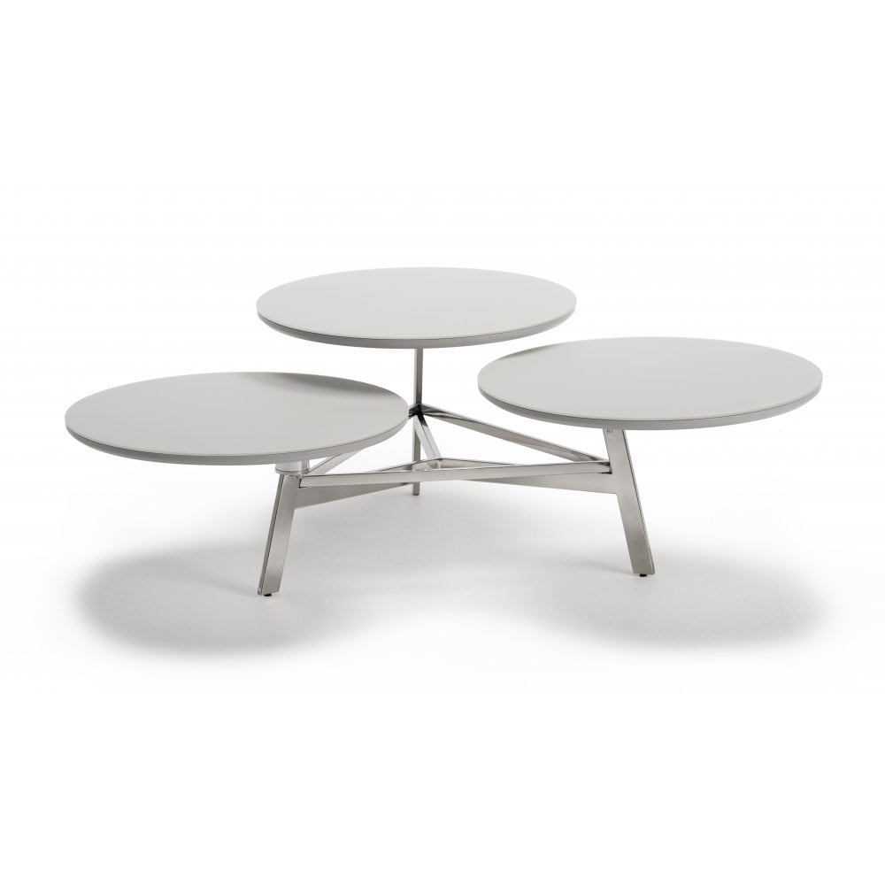 Extendable Glass Coffee Tables: Kesterport Roxanne Extending Coffee Table