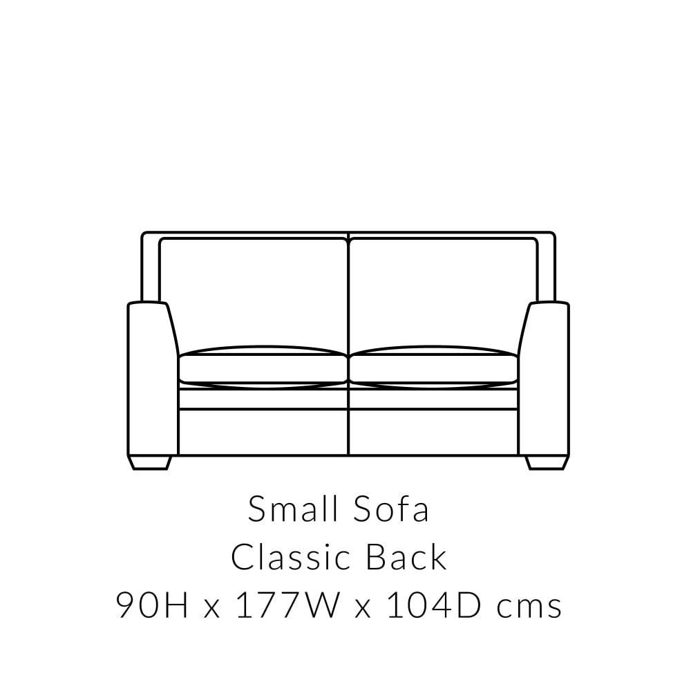 Stupendous Greenwich Small 2 Seater Sofa Formal Back Machost Co Dining Chair Design Ideas Machostcouk