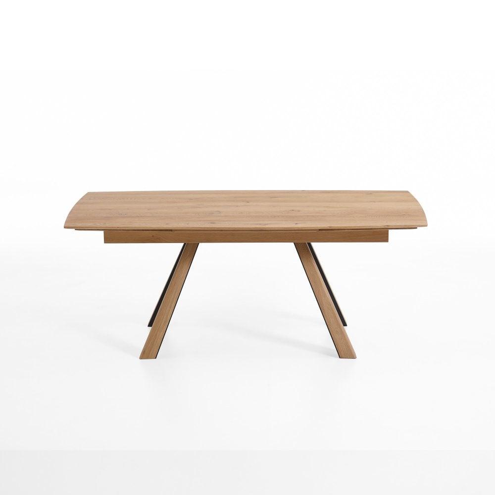 Super Runa Large Extending Oak Dining Table Seats 8 12 Inzonedesignstudio Interior Chair Design Inzonedesignstudiocom