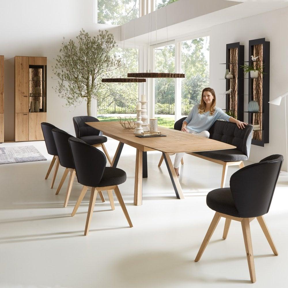 Hartmann Runa Large Extending Oak Dining Table Seats 12 Harrogate