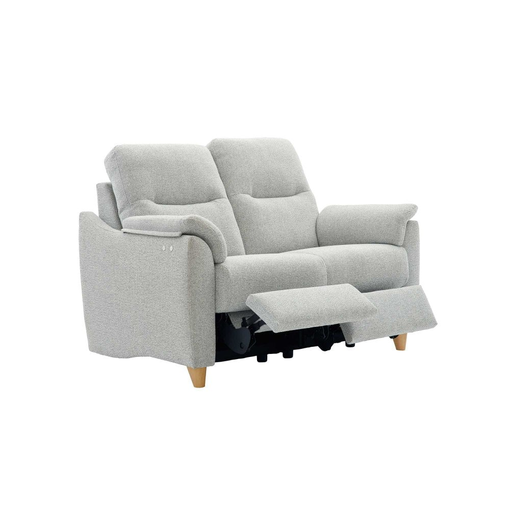 Phenomenal Spencer 2 Seater Electric Recliner Sofa In Fabric Machost Co Dining Chair Design Ideas Machostcouk