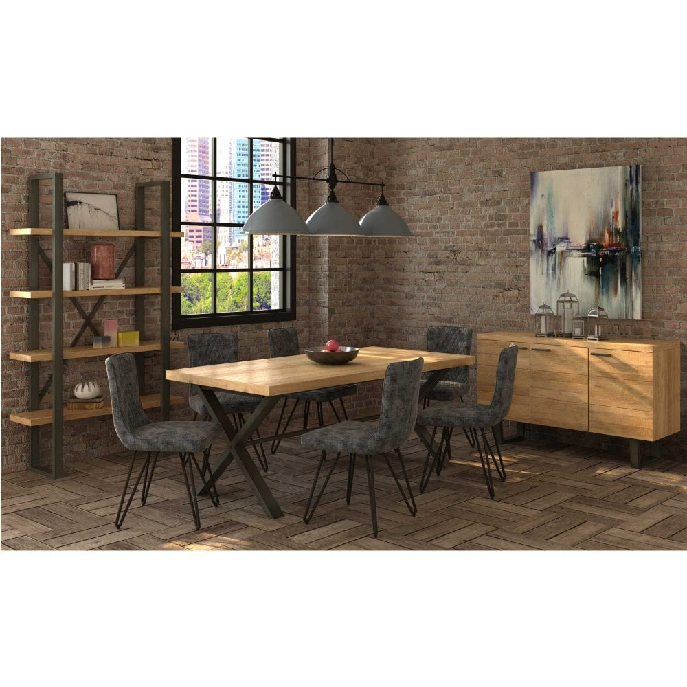 Bali 150cm Dining Table Extending Solid Oak At Smiths The Rink
