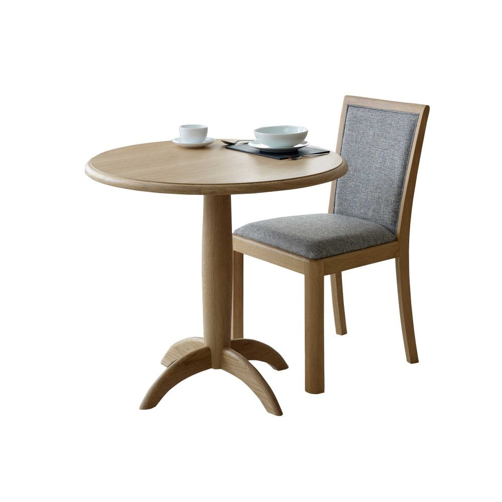 Stockholm Fixed Top Oak Dining Table