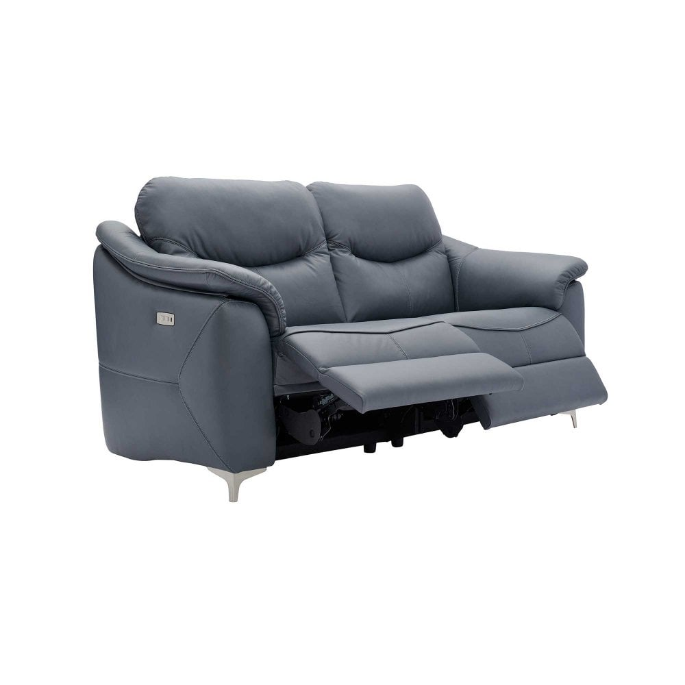 Jackson 3 Seater Recliner Sofa - Fabric