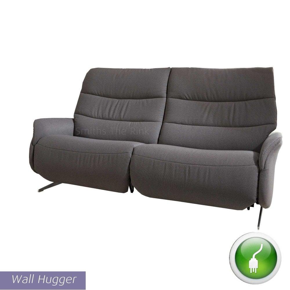 Himolla Azure 3 Seater Electric Recliner Sofa - Wall Hugger