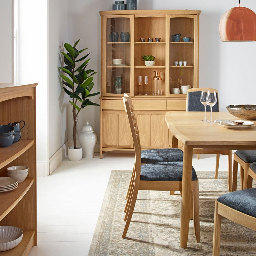 Nathan Shades Oak Circular Dining Table With Legs The Rink Harrogate