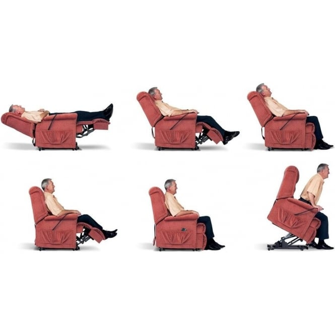 Lynton Rise and Recline Recliner Chair Petite at Smiths The Rink