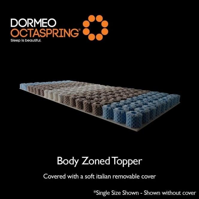 dormeo octaspring double size body zoned 7cm mattress topper. Black Bedroom Furniture Sets. Home Design Ideas