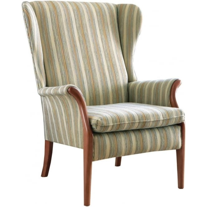 parker knoll froxfield wing chair at smiths the rink harrogate