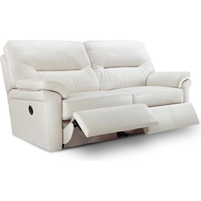 Washington 3 Seater Electric Recliner Leather Sofa