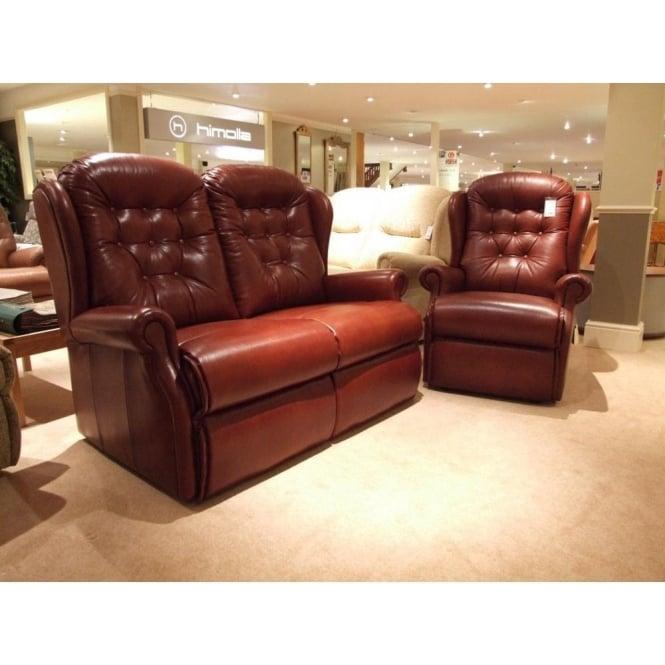 Incredible Sherborne Lynton 2 Seater Leather Sofa Recliner Clearance Beutiful Home Inspiration Xortanetmahrainfo