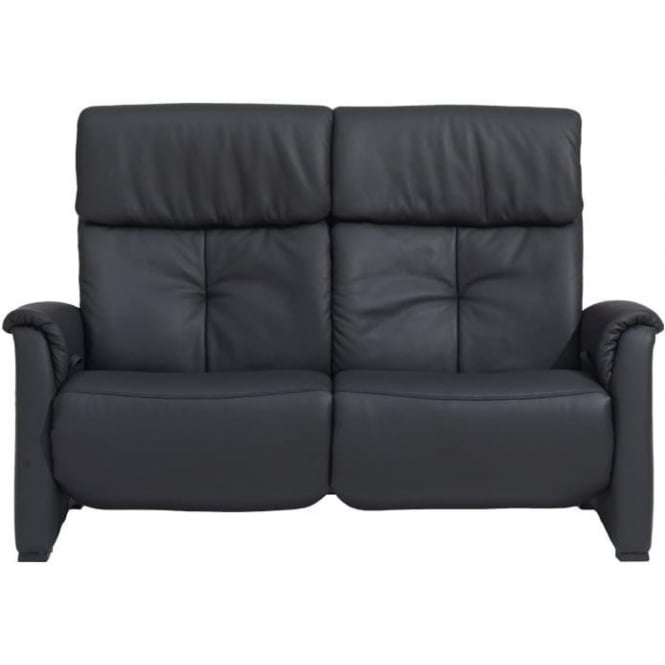 Humber Maxi 2 Seater Manual All Reclining Leather Sofa